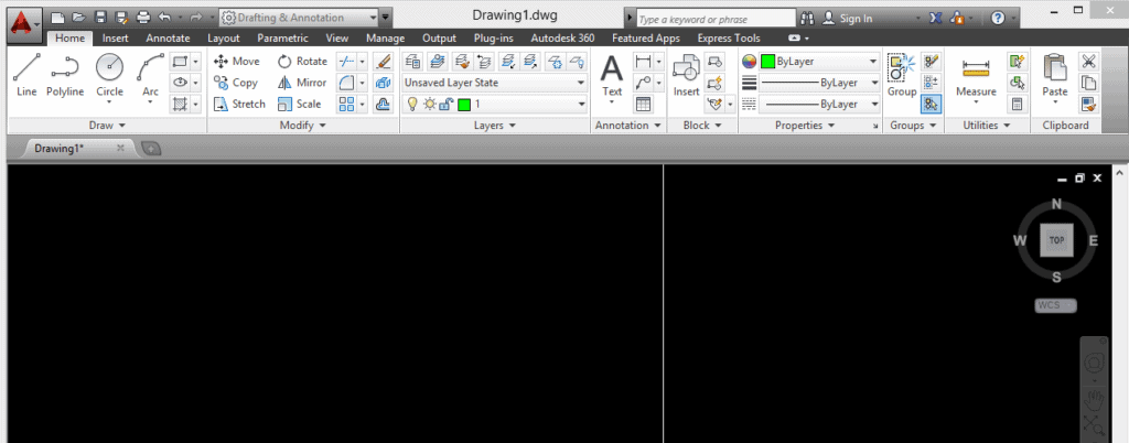 Image of AutoCAD software