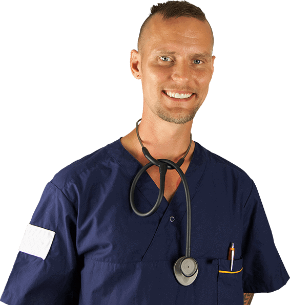 emergency healthcare professional